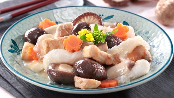 雙菇芋絲燜排骨