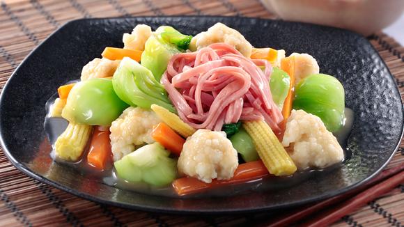 豬骨濃湯燴四蔬