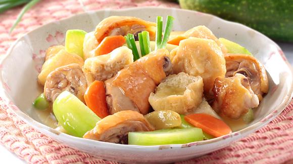 濃湯節瓜燜雞