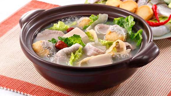 玉竹豆腐魚湯底