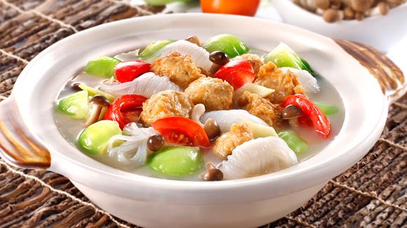 番茄魚腐芋絲鍋