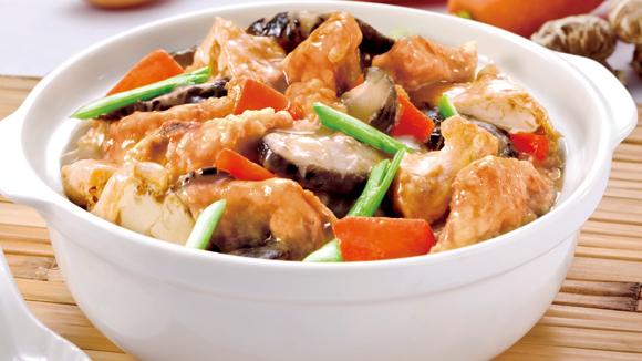 豆腐班腩煲