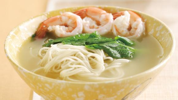 鮮蝦蔬菜麵