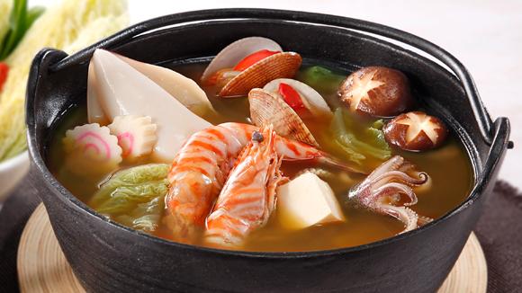 日式味噌海鮮火鍋湯底