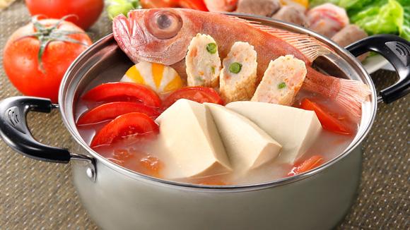 蕃茄豆腐魚鍋湯底