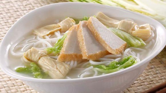鮮竹津白魚片魚湯米線