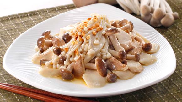 雞汁炒雜菇
