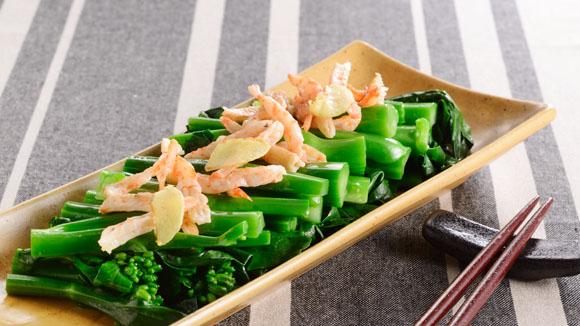 蝦乾炒芥蘭