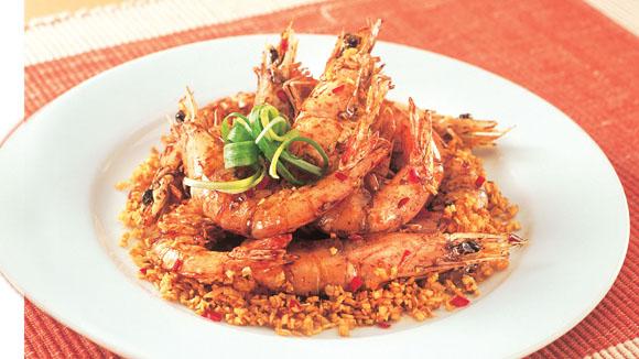 避風塘醬油蝦