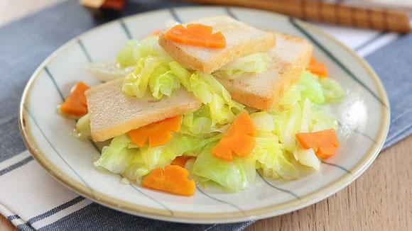 魚片頭炒椰菜