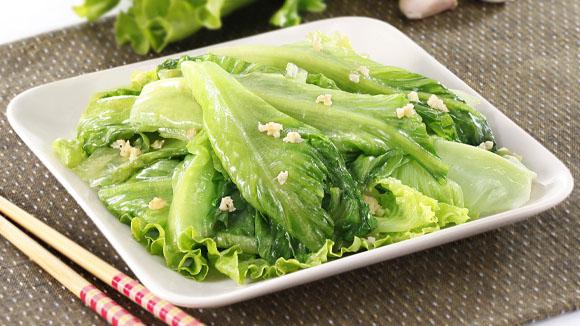 蒜蓉炒唐生菜