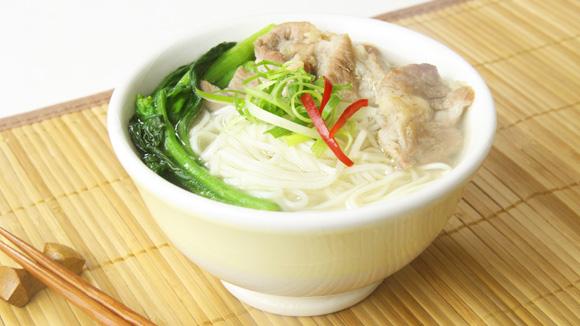 菜遠肉片上海麵