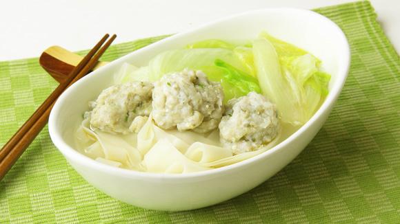 生菜鯪魚肉湯河