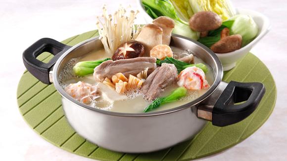 瑤柱雜菌豬骨火鍋