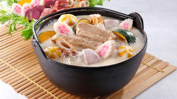 香芋牛乳豬骨火鍋