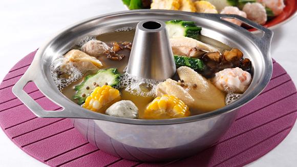 雲耳胡椒雞火鍋