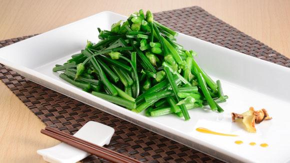 薑汁炒韭菜花