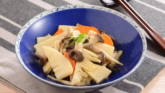 舞菇炒筍片