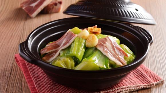 金華火腿燴大芥菜