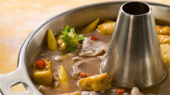 沙爹牛肉火鍋湯底