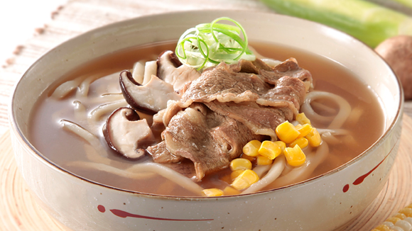 京蔥肥牛肉湯烏冬