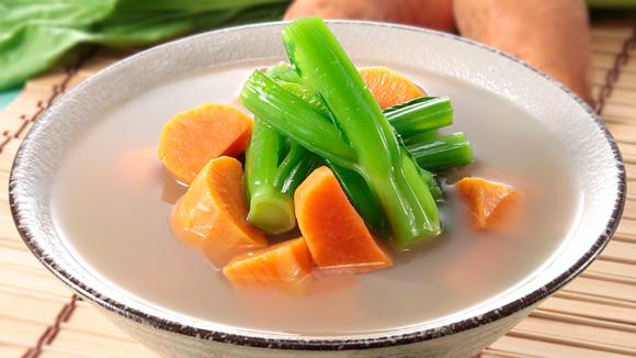 蕃薯芥菜豬骨湯