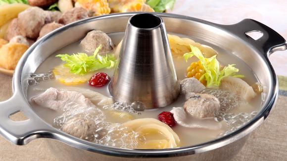 鹹菜豬骨火鍋
