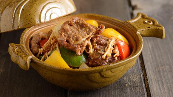 雜菜沙爹炆牛肋肉