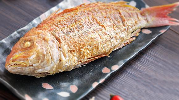 乾煎金線魚