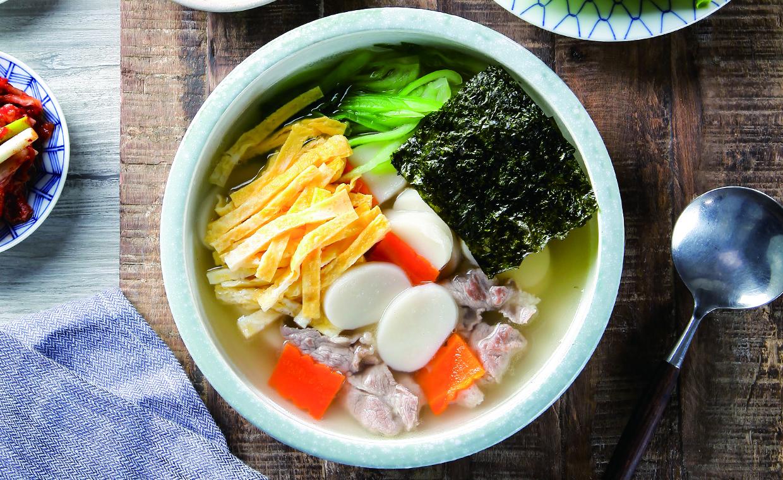 惜食料理-什錦年糕湯
