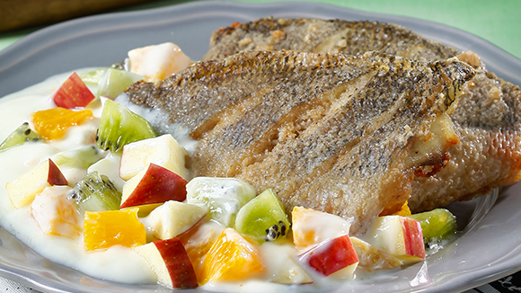 優格沙拉烤魚排