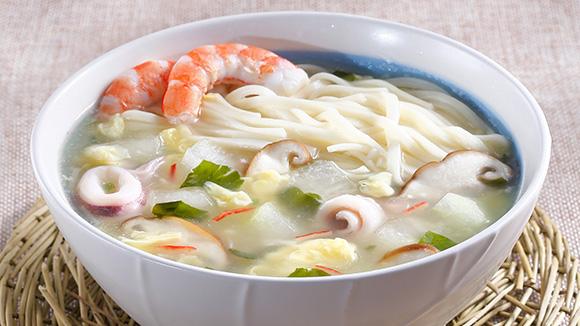 冬瓜海鮮羹麵