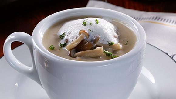 卡布奇諾野菇濃湯
