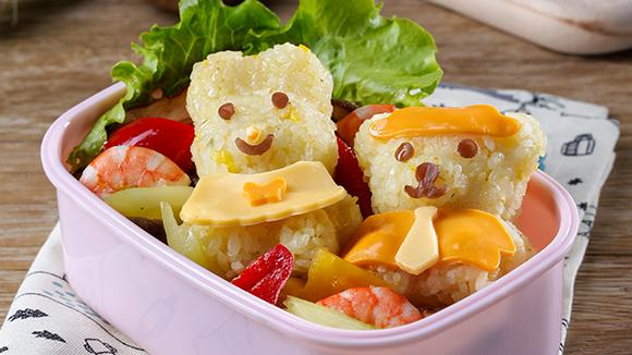 小熊兔兔飯糰