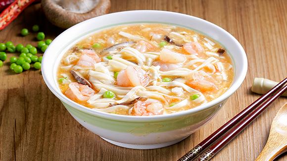 川味鮮蝦酸辣麵
