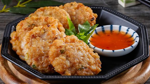 泰式煎蝦餅