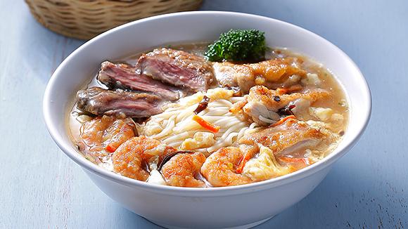 海陸酸辣湯麵
