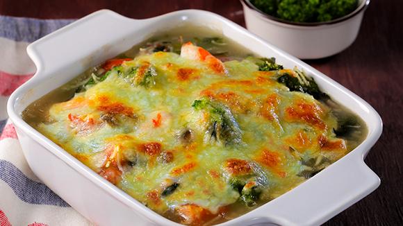 惜食料理-焗烤什錦時蔬