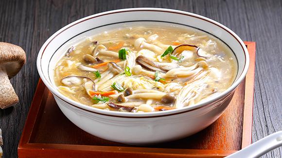 珍菇酸辣湯