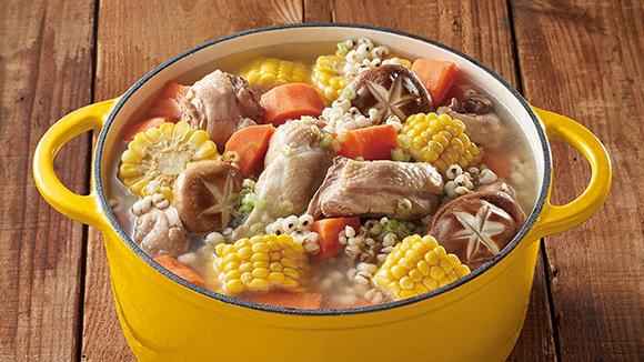 薏仁雞肉鍋