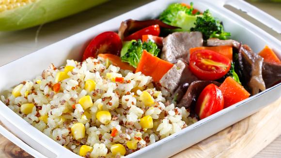裸麥野菜小餐盒