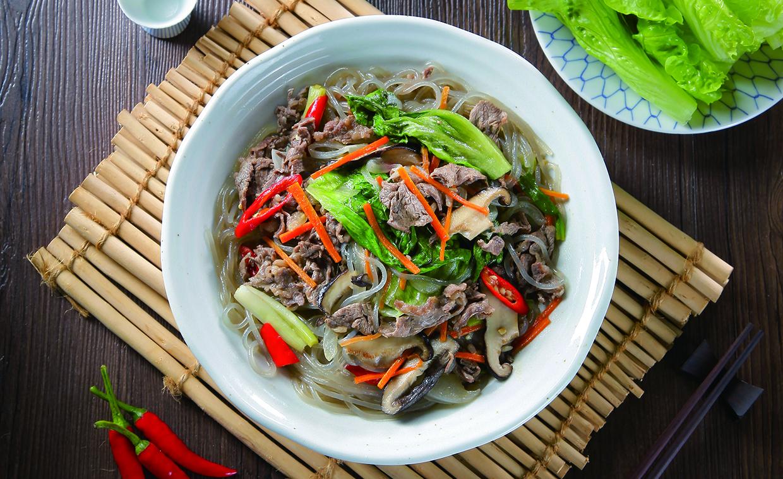惜食料理-韓式牛肉冬粉