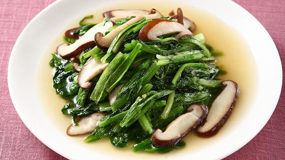 鮮香菇炒A菜