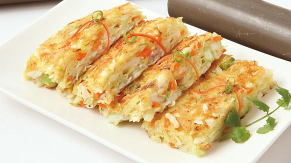 素香高麗菜煎餅