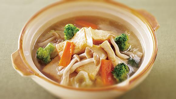 蔬菜豆腐煲