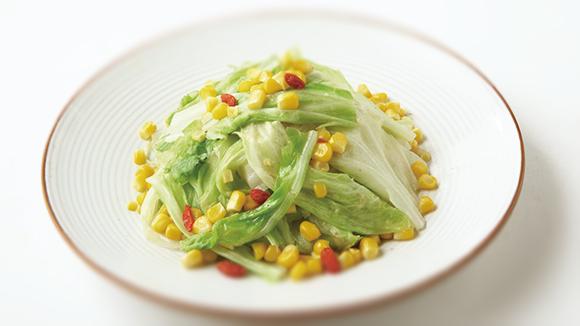 玉米枸杞炒高麗