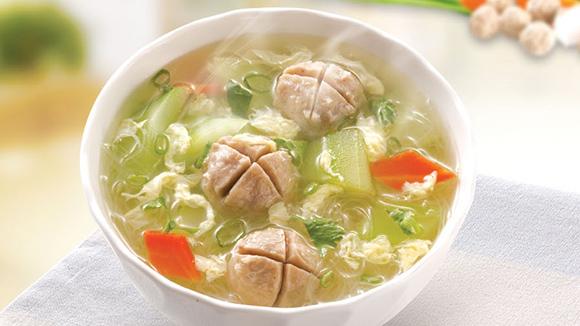 黃瓜豬肉丸湯