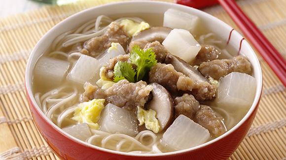 白蘿香濃肉羹麵