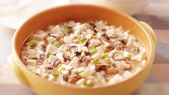 鹹魚嫩豆腐