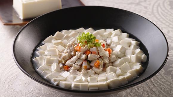 雞米花豆腐